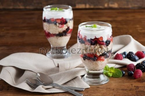 Вкусный десерт с сухофруктами