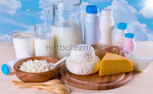 Молочные продукты в питании