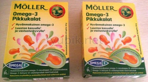 Препарат Omega-3 Pikkukalat