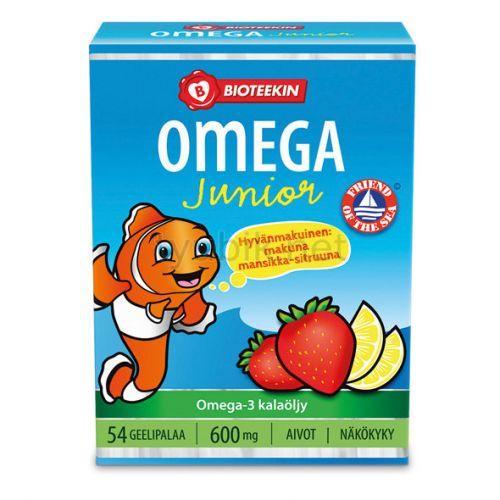 Витамины Bioteekin Omega-3 Junior