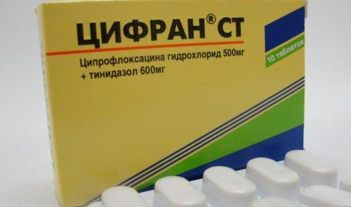 Противомикробный препарат Цифран